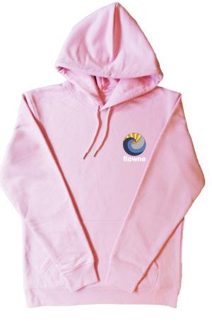flowne basic hoodie rose