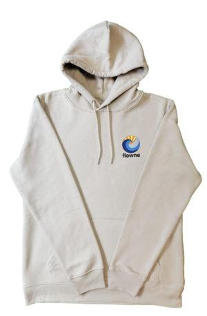 flowne basic hoodie sand