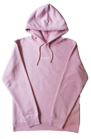 flowne backlogo hoodie rose