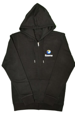 flowne zipper black