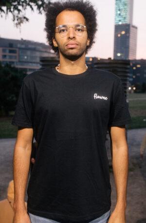 flowne classic shirt – black