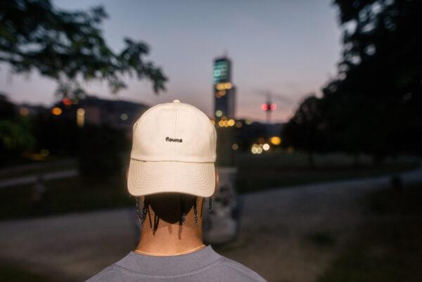 simple cap, beige