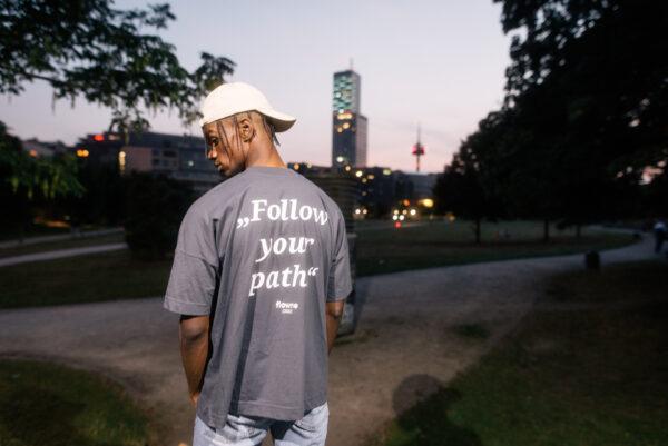 follow your path & simple Cap, beige
