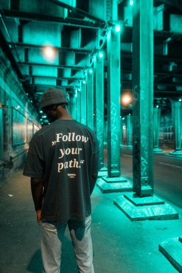 fyp-Shirt & simple cap green
